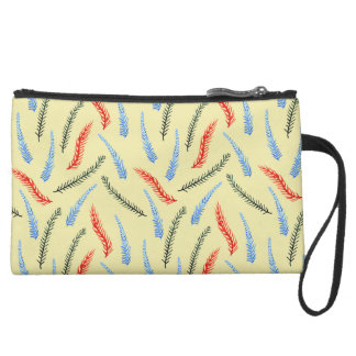 Branches Sueded Mini Clutch