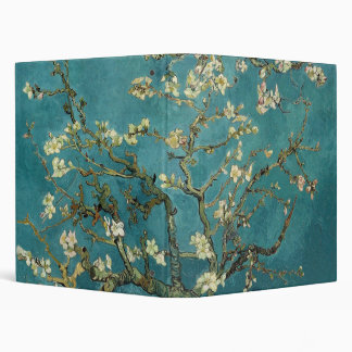 Branches with Almond Blossom by Vincent Van Gogh Binder