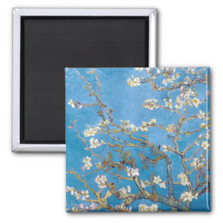Branches with Almond Blossom Van Gogh Fridge Magnet