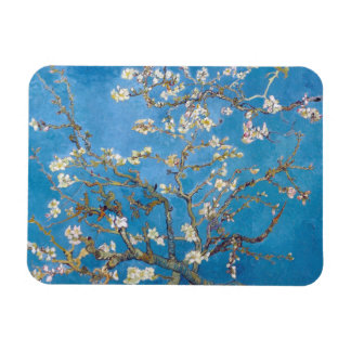 Branches with Almond Blossom Van Gogh Rectangular Photo Magnet