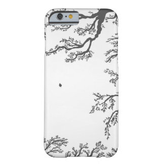 branches with birds and leaves on a lig barely there iPhone 6 case