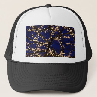 Branches with Christmas lights Trucker Hat