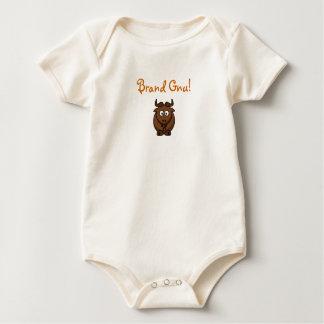 "Brand Gnu! ""New"" Baby Bodysuit"