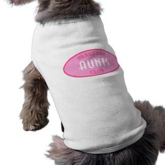 Brand New Aunts Club (Pink) Doggie Tshirt