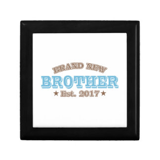 Brand New Brother Est. 2017 (Blue) Trinket Boxes