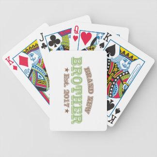 Brand New Brother Est. 2017 (Green) Poker Deck