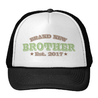 Brand New Brother Est. 2017 (Green) Trucker Hat