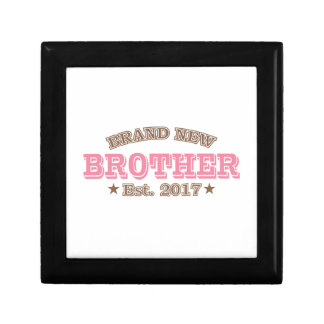 Brand New Brother Est. 2017 (Pink) Gift Boxes