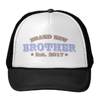 Brand New Brother Est. 2017 (Purple) Trucker Hat