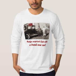 Brand new car! Vintage photo T-Shirt
