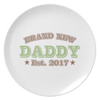 Brand New Daddy Est. 2017 (Green) Plate