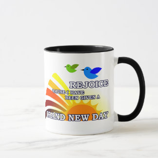Brand New Day - Customizable Name Mug
