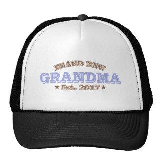 Brand New Grandma Est. 2017 (Purple) Trucker Hat