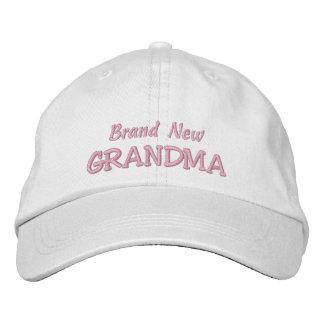 Brand New GRANDMA-Grandparent's Day OR Birthday Embroidered Hat