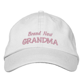 Brand New GRANDMA-Grandparent's Day OR Birthday Embroidered Hats