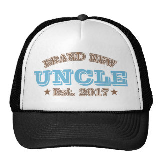 Brand New Uncle Est. 2017 (Blue) Trucker Hat