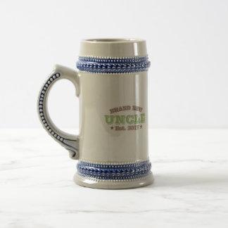 Brand New Uncle Est. 2017 (Green) Beer Stein