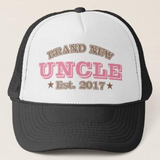 Brand New Uncle Est. 2017 (Pink) Trucker Hat