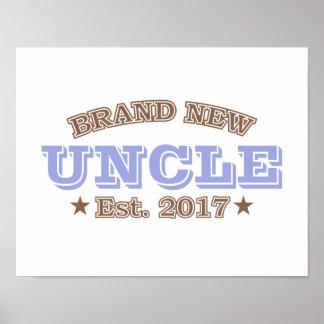 Brand New Uncle Est. 2017 (Purple) Poster