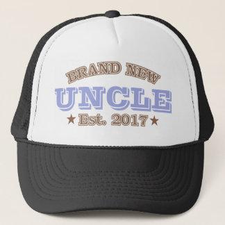 Brand New Uncle Est. 2017 (Purple) Trucker Hat