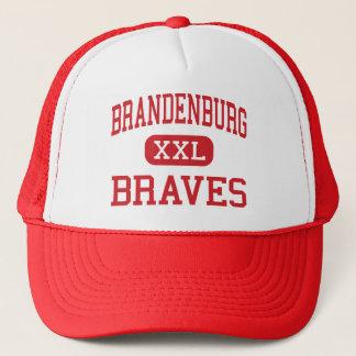 Brandenburg - Braves - Middle - Garland Texas Trucker Hat