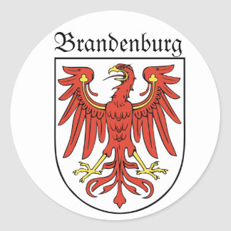 Brandenburg Classic Round Sticker