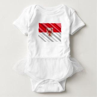 Brandenburg Flag Baby Bodysuit