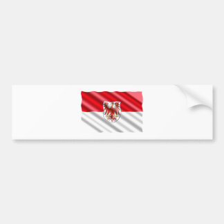Brandenburg Flag Bumper Sticker