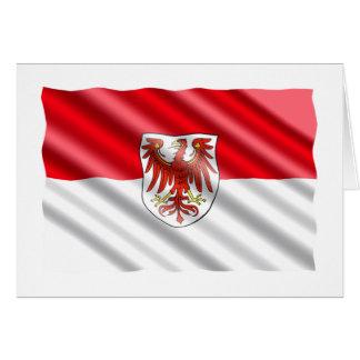 Brandenburg Flag Card
