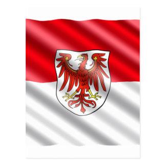 Brandenburg Flag Postcard