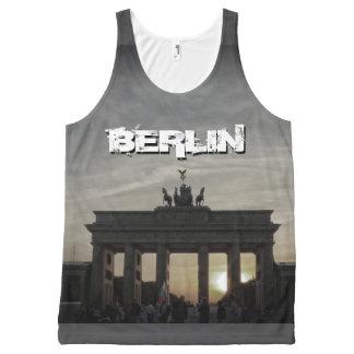 Brandenburg Gate 001.F.05.6, sunset, BERLIN All-Over-Print Tank Top