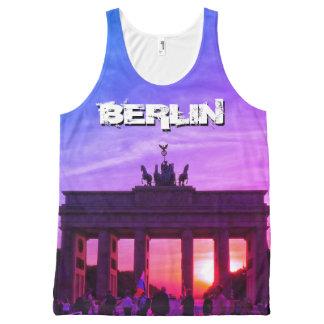 Brandenburg Gate 001.F.05, sunset, BERLIN All-Over-Print Tank Top