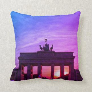 Brandenburg Gate 002.F.5R, BERLIN Throw Pillow