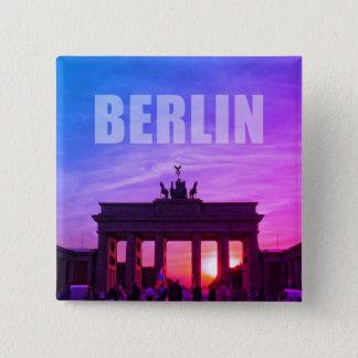 Brandenburg Gate, BERLIN 001.02 2 Inch Square Button
