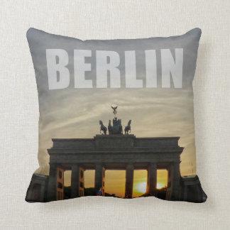 Brandenburg Gate, Berlin 01.2 Throw Pillow