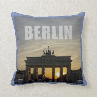Brandenburg Gate, Berlin 01.3.2 Throw Pillow