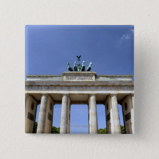 Brandenburg Gate, Berlin, Germany 2 Inch Square Button