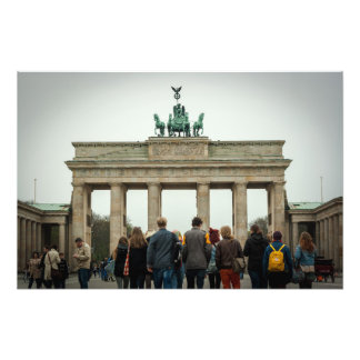 Brandenburg Gate Berlin Photographic Print