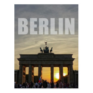 Brandenburg Gate, BERLIN Postcard