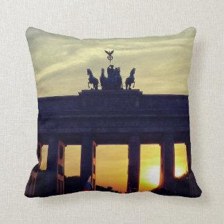 Brandenburg Gate, BERLIN Throw Pillow