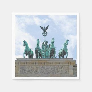 Brandenburg Gate - Brandenburger Tor Disposable Napkin