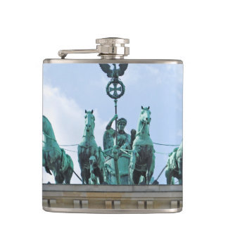 Brandenburg Gate - Brandenburger Tor Hip Flask