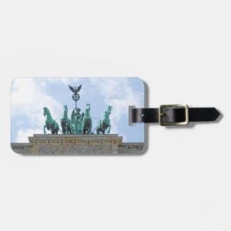 Brandenburg Gate - Brandenburger Tor Luggage Tag