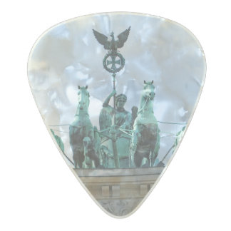 Brandenburg Gate - Brandenburger Tor Pearl Celluloid Guitar Pick