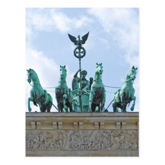 Brandenburg Gate - Brandenburger Tor Postcard