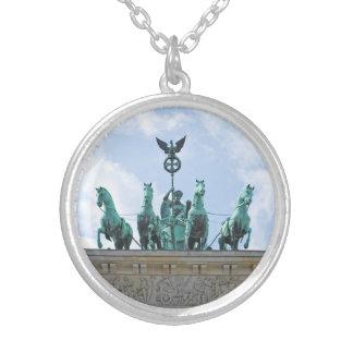 Brandenburg Gate - Brandenburger Tor Silver Plated Necklace