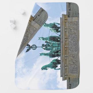 Brandenburg Gate - Brandenburger Tor Swaddle Blanket