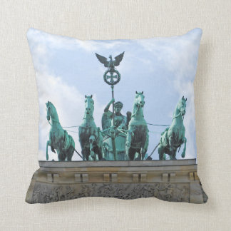 Brandenburg Gate - Brandenburger Tor Throw Pillow