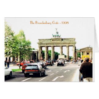 Brandenburg Gate Card