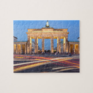 Brandenburg Gate in Berlin Jigsaw Puzzle